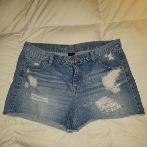 🆕 Mossimo Boyfriend Midi Jean Shorts